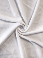 Poly Interlock Knit Soft Stretch Fabric- White SQ345 WHT