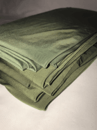 8 PIECES Clearance (1/2 Metre) Silk Touch 4 Way Stretch Lycra Fabric Job Lot Bundle- Khaki/Dark Khaki JBL198 KH