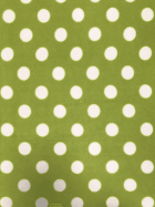 Polar Fleece Anti Pill Washable Soft Fabric- Giant Polka Dots (Lime) SQ356 LMWHT