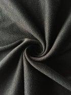 22 METRES Poly Viscose Rib Stretch Fabric Job Lot Bolt- Black JBL306 BK
