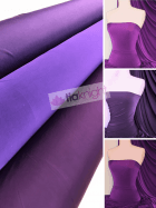 25 METRES Silk Touch 4 Way Stretch Lycra Fabric Wholesale Roll- Purple Shades JBL333
