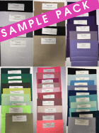 30 SAMPLE PACK- Silk Touch Stretch Jersey Lycra Fabric Q53