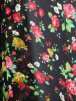 Chiffon Soft Touch Sheer Fabric- Shalimar Red Floral Q371 SRDBK