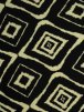 Viscose Cotton Stretch Lycra Fabric- Lauren Black/Beige Diamond VSCP15 BKBGE