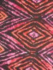 Viscose Cotton Stretch Lycra Fabric- Lisa Sunset Diamond VSCP16 ORPN