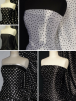 Super Soft Satin Fabric- Spotty Polka Dot Prints