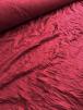 20 METRES 100% Crushed Viscose Stretch Material Job Lot Bolt- Red Wine JBL70 RD