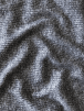 Salt & Pepper Rib Jersey Knitwear Fabric- Black/White SQ262 BKWH