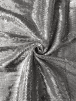 Sequin Mesh Ground Lightweight Fabric- Silver SQ264 SLV