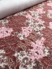 20 METRES Soft Touch 4 Way Stretch Lycra Material Wholesale Roll- Pink Paisley JBL74 PN