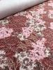 20 METRES Soft Touch 4 Way Stretch Lycra Material Job Lot Bolt- Pink Paisley JBL74 PN