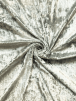 Crushed Glitz Velour/Velvet Woven Interior Fabric- Ice Grey SQ269 ICGR