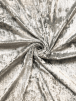 Crushed Glitz Velour/Velvet Woven Interior Fabric- Grey SQ269 GR