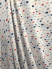 Smooth Touch Woven Blouse/Dress Fabric- Rain Drops SMT19 IVMLT