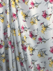 Smooth Touch Woven Blouse/Dress Fabric- Freesia Floral SMT20 MLT