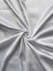 Satin Faux Silk Effect Woven Fabric Material- White SQ280 WHT