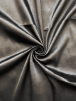 Satin Faux Silk Effect Woven Fabric Material- Black SQ280 BK