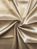 Satin Faux Silk Effect Woven Fabric Material- Stone SQ280 STN