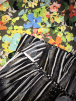 5 PIECES (1 Metre) Printed Silk Touch 4 Way Stretch Lycra Material Job Lot Pieces- Misc JBL110
