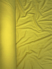 20 METRES Yarn Dyed Single Pique UV Protective 100% Cotton Knitted Tubular Fabric Wholesale Roll- Yellow JBL128 YL