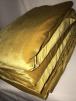 5 PIECES Clearance (70-150 cms) Velvet/ Velour 4 Way Stretch Spandex Lycra Job Lot Pieces- Mustard JBL149 (Q559)