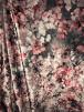 NEW Premium Velvet Heavy Scuba Backed Stretch Spandex Fabric- Cherry Blossom SQ314 GRPN