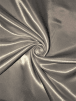 Clearance Satin Woven Fabric Material- Silver SQ317 SLV