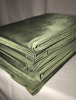 10 PIECES Clearance (1/2 Metre) Silk Touch 4 Way Stretch Lycra Fabric Job Lot Bundle- Khaki JBL153 KH