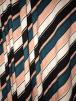 Viscose Cotton Stretch Lycra Fabric- Geometric Stripes SQ325 MLT