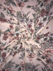 Georgette Crepe Soft Touch Sheer Fabric- Feminine Florals SQ338 PNMLT