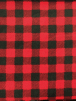 Polar Fleece Anti Pill Washable Soft Fabric- Red/Black Tartan SQ347 RDBK