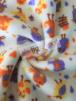 20 METRES Polar Fleece Anti Pill Washable Soft Fabric Wholesale Roll- Birdies Ivory/Multi JBL248 IVMLT