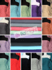 20 METRES Soft Fine 1x1 Rib 100% Cotton Knit Jersey Material Wholesale Roll- JBL292