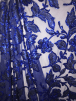 Showtime Sequins Dress/Dance Fabric- Floral Sparkle SEQ69 ELCBL