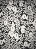 Showtime Sequins Dress/Dance Transparent Net Fabric- Floral Pearl SEQ71 IV