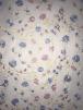 Net Dress/Dance Mesh Fabric- Pastel Flowers SQ365 WHTMLT