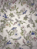 Crepe Blouse/Dress Fabric- Hampshire Gardens Ivory/Multi SQ367 IVMLT