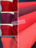 25 METRES 100% Cotton Interlock Knit Soft Jersey T-Shirt Fabric Wholesale Roll- Red Shades JBL334