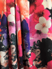 Scuba Stretchy Poly Lycra Fabric- Ariana Florals SCB203 MLT