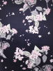 Scuba Stretchy Poly Lycra Fabric- Pink Tree Blossoms SCB205 NYPN