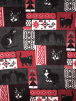 Polar Fleece Anti Pill Washable Soft Fabric- Queen Of Cats SQ382 RDGR
