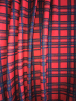 Scuba Crepe Stretch Jersey Dressmaking Fabric- Red Scottish Tartan SQ386 RDMLT