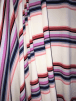 Crepe Blouse Fabric- Carnival Stripes CRP8 WHTMLT
