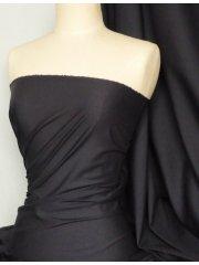 Poly Cotton Material- Black Q460 BK