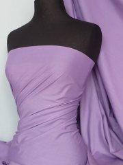 Poly Cotton Material- Lilac Q460 LLC