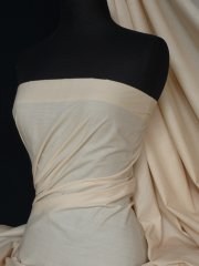 Poly Cotton Material- Almond Q460 ALM