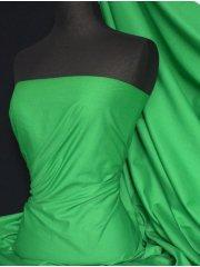 Poly Cotton Material- Leaf Green Q460 LFGR