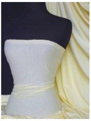 Single Jersey Knit 100% Light Cotton T-Shirt Fabric- Pastel Lemon Q1249 PLMN
