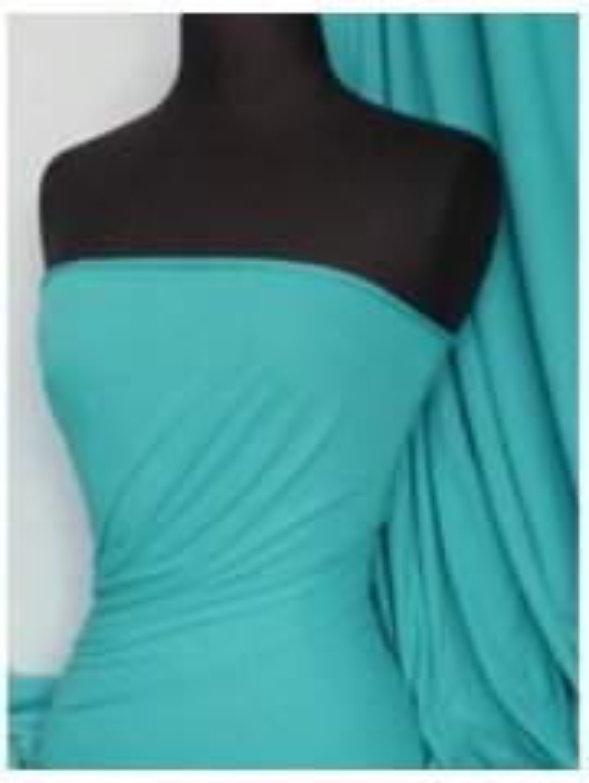 Single Jersey Knit 100% Light Cotton T-Shirt Fabric- Peacock Q1249 PCK