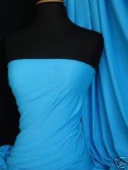 Viscose Cotton Stretch Lycra Fabric- Dark Turquoise Q300 DKTQ